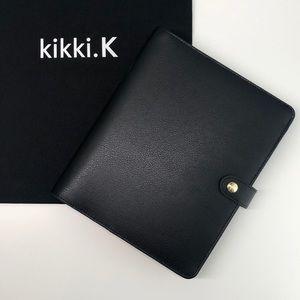 Kikki.K A5 Black Leather Planner
